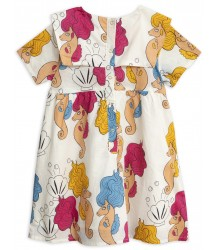 Mini Rodini SEAHORSE Sailor Dress - LIMITED EDITION Mini Rodini SEAHORSE Sailor Dress - LIMITED EDITION