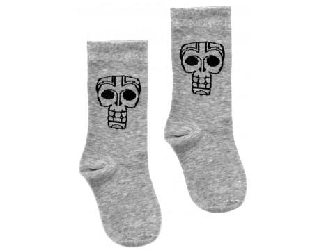 Little Man Happy TIKI MASK Socks