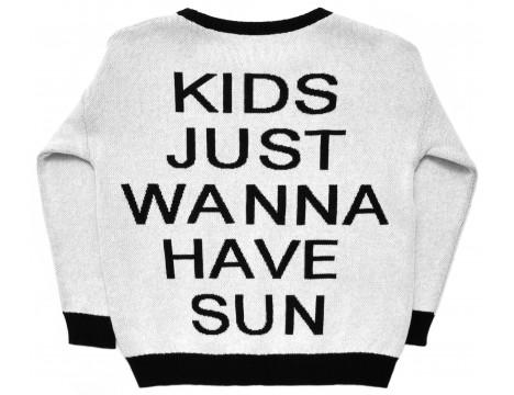 Little Man Happy KIDS WANNE SUN Knit Sweater