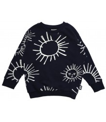 Little Man Happy BLACK SUN Loose Sweater Little Man Happy BLACK SUN Loose Sweater