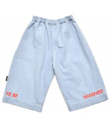 Little Man Happy YOU BE WARNED Cropped Pants Little Man Happy YOU BE WARNED Cropped Pants