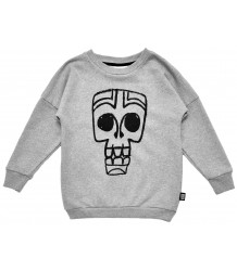 Little Man Happy TIKI MASK Loose Sweater Little Man Happy TIKI MASK Loose Sweater