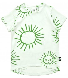 Little Man Happy GREEN SUN Longline Shirt Little Man Happy YE BE WARNED Box Shirt