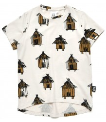Little Man Happy TIKI HUTS Longline Shirt Little Man Happy TIKI HUTS Longline Shirt
