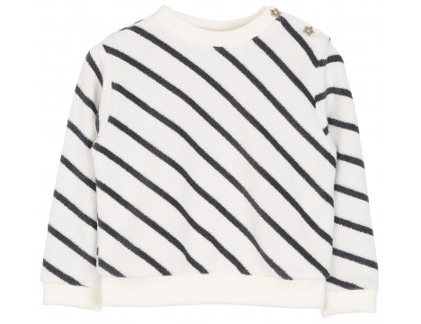 Emile et Ida Terry Sweatshirt STRIPES