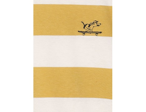 Emile et Ida Tee Shirt STRIPE DOG