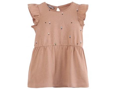 Emile et Ida T-shirt Dress FLOWERS