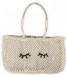 Emile et Ida Jute Bag EYES Emile et Ida Jute Bag EYES