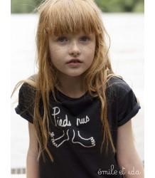 Emile et Ida Tee Shirt BAREFOOT Emile et Ida Tee Shirt PIEDS NUS