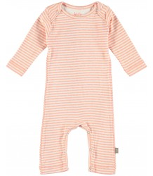 Kidscase Roman Organic NB Suit Kidscase Roman Organic NB Suit soft orange