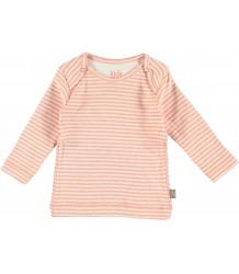 Roman Organic NB T-shirt Kidscase Roman Organic NB T-shirt soft orange