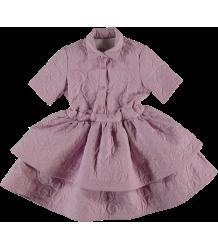 Caroline Bosmans mast Cell Layered Dress CHICKEN Caroline Bosmans Poppy Nose Spray Layered Dress CHICKEN
