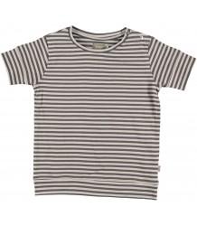 Kidscase Sol Organic T-shirt Kidscase Sol Organic Kids T-shirt grey striped