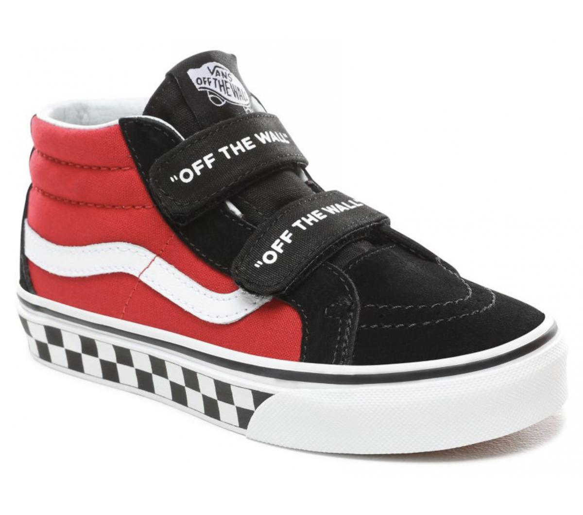 Korting Kinderen Vans Logo Pop SK8 Mid Reissue V schoenen