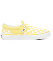 VANS Classic Slip-on Kids CHECKERBOARD VANS Classic Slip-on Kids CHECKERBOARD gold