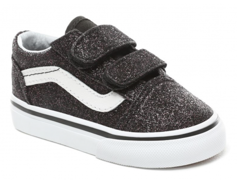 VANS Old Skool V Toddlers GLITTER STARS