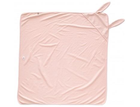 Oeuf NYC Bunny Swaddle Blanket DOTS
