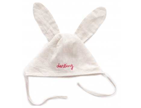 Oeuf NYC Visor Hat Bunny DARLING