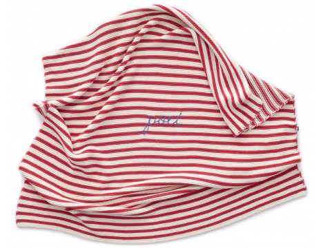 Oeuf NYC Striped Blanket POET