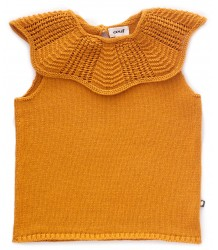 Oeuf NYC Scalloped Collar Vest
