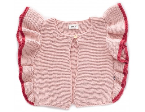 Oeuf NYC RUFFLE Vest DARLING