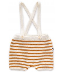 Oeuf NYC Suspenders Knit Shorts STRIPES Oeuf NYC Suspenders Knit Shorts STRIPES ocher