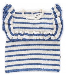 Oeuf NYC Frou Frou Top STRIPES Oeuf NYC Frou Frou Top STRIPES