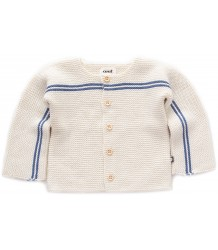 Oeuf NYC STRIPE Cardigan Oeuf NYC STRIPE Cardigan blue