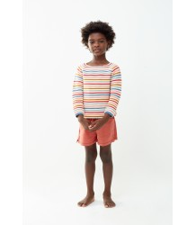 Oeuf NYC Raglan Sweater MULTI STRIPES Oeuf NYC Raglan Sweater MULTI STRIPES
