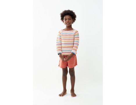 Oeuf NYC Raglan Sweater MULTI STRIPES