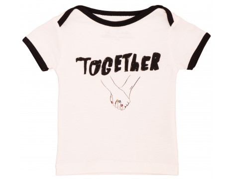 Noé & Zoë Baby Tee TOGETHER