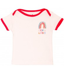 Noé & Zoë Baby Tee REBEL LOVE Noe & Zoe Baby Tee REBEL LOVE