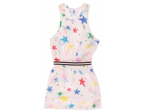 Noé & Zoë Net Dress MULTI KULTI STARS