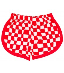 Noé & Zoë Shortie CHECKER Noe & Zoe Shortie CHECKER red