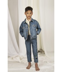 Mini Rodini SEAMONSTERS Denim Jacket - LIMITED EDITION Mini Rodini SEAMONSTER Denim Jacket - LIMITED EDITION