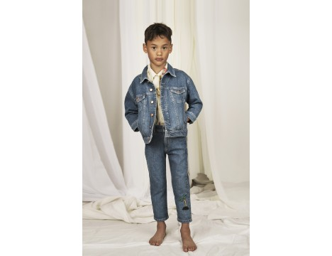 Mini Rodini SEAMONSTERS Denim Jacket - LIMITED EDITION