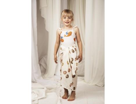 Mini Rodini WHALE Skirt Swimsuit