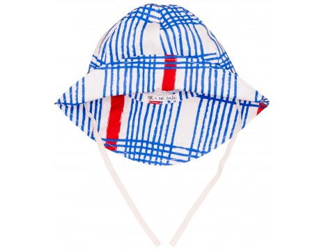 Noé & Zoë Baby Summer Hat GINGHAM