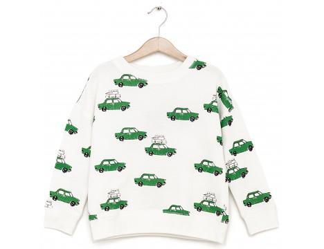 Nadadelazos Sweatshirt ROOF RACK CARS