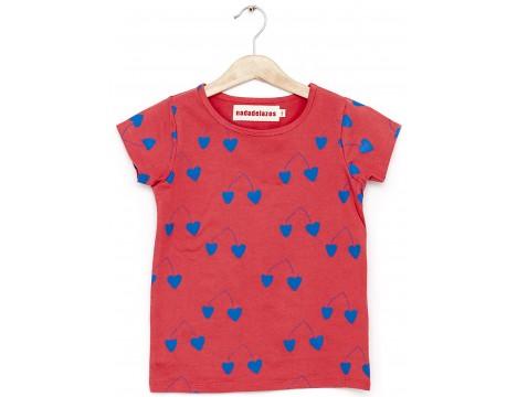 Nadadelazos T-shirt SS CHERRIES