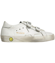 Golden Goose Superstar OLD SCHOOL EDT White Leather Golden Goose Deluxe Brand Superstar OLD SCHOOL White Leather