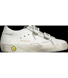 Golden Goose Superstar OLD SCHOOL EDT White Leather Golden Goose Deluxe Brand Superstar OLD SCHOOL White Leather