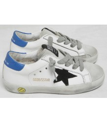 Superstar White + Black STAR Golden Goose Deluxe Brand Superstar White   Black STAR