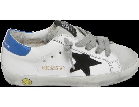 Golden Goose Superstar White + Black STAR