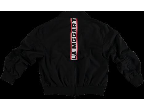 Stella McCartney Kids STELLA Logo Tape Bomber Jacket