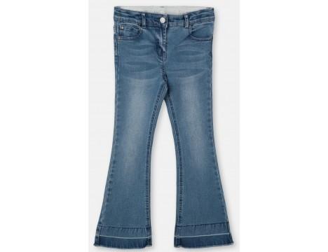 Stella McCartney Kids Skinny Jeans Long Denim Flared