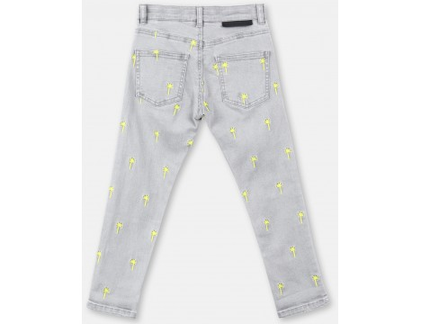 Stella McCartney Kids Boyfriend Jeans PALMS Embroidered