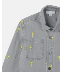 Stella McCartney Kids LS Jeans Shirt PALMS Embroidered Stella McCartney Kids LS Jeans Shirt PALMS Embroidered