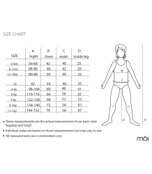 Mói A Dress COLLAR moi size chart