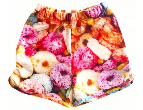 Romey Loves Lulu Shorts FRUIT CEREAL